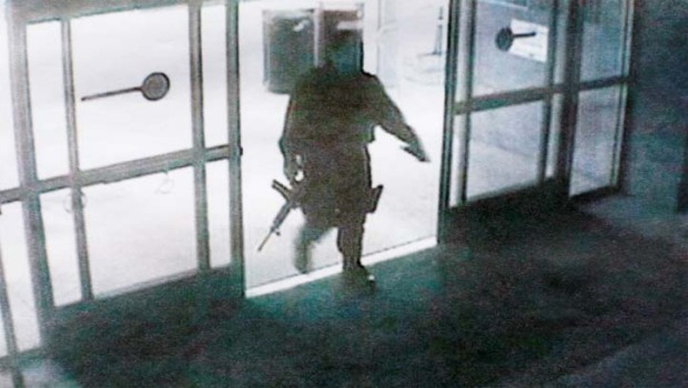 Santa Monica Gunman Caught on Camera