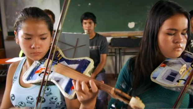 [LA] Renowned Youth Orchestra Plays Instruments Made of Trash