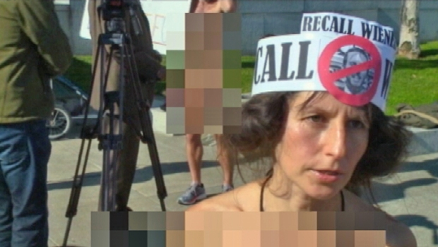 [BAY] Raw Video: Nudist Protest San Francisco Nudity Ban