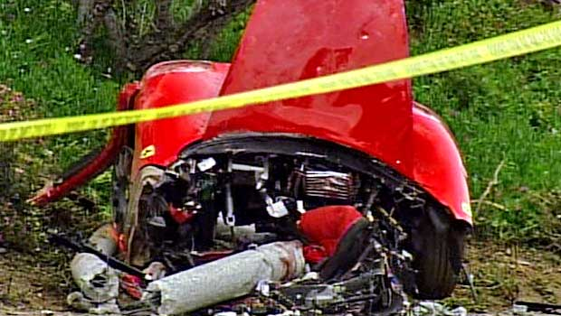 Driver Killed in Newport Beach Ferrari Crash