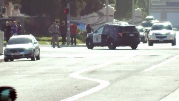 PHOTOS: Deputies Descend on High School After Gunfire on Campus