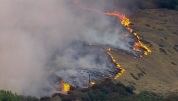 [BAY] Morgan Fire Near Mt. Diablo Doubles, Chars 1,500 Acres