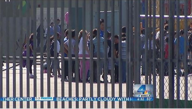 [LA] LAPD Patrols Elementary and Middle Schools in Wake of Connecticut Shooting