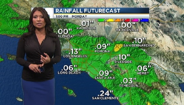 [LA] AM Forecast: Temperatures Drop, Winds Increase