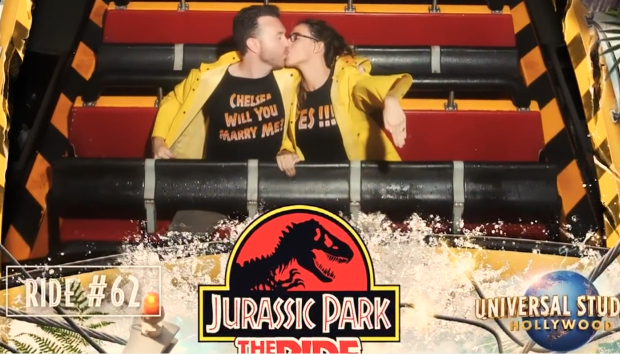 Jurassic Proposal is the Cutest Thing You'll See Today