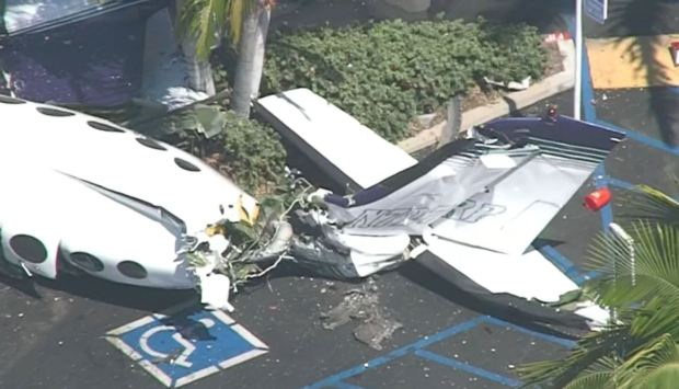 Photos: 5 Dead After Plane Crash in Santa Ana Parking Lot