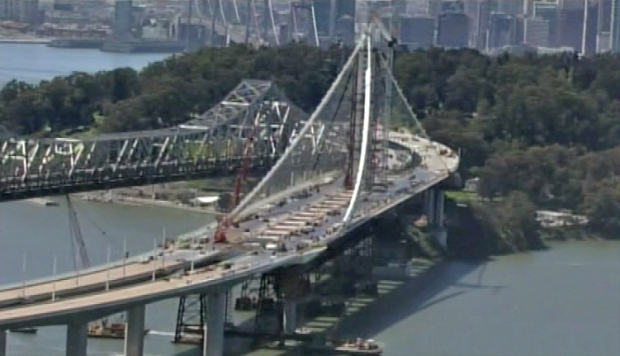 Bay Bridge Construction on Eastern Span