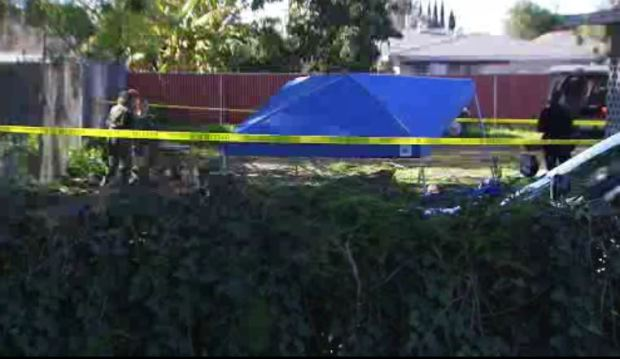 Human remains found in yard of Buena Park home