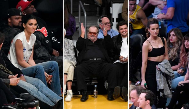 [LA GALLERY UPDATED 11/6] Celebrity Fans in the Stands: Los Angeles Lakers Edition