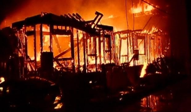 Brentwood Fire Burns Townhouse Under Construction