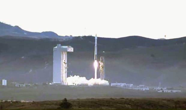 [LA] Rocket Carries Imaging Satellite From Vandenberg AFB