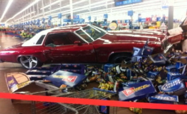 Driver Plows Through San Jose Walmart