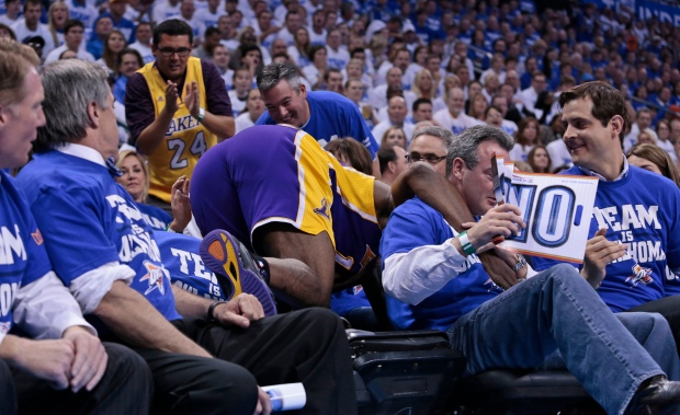 Los Angeles Lakers 2012 Playoff Run