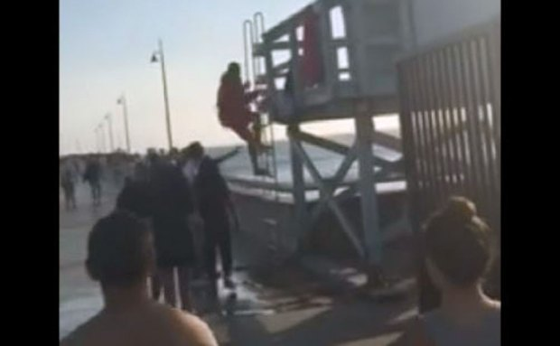 [LA] Caught on Camera: Venice Pier Lifeguard Attack