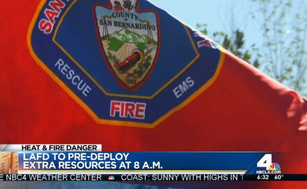[LA] Red Flag Warnings Have San Bernardino County Firefighters on High Alert