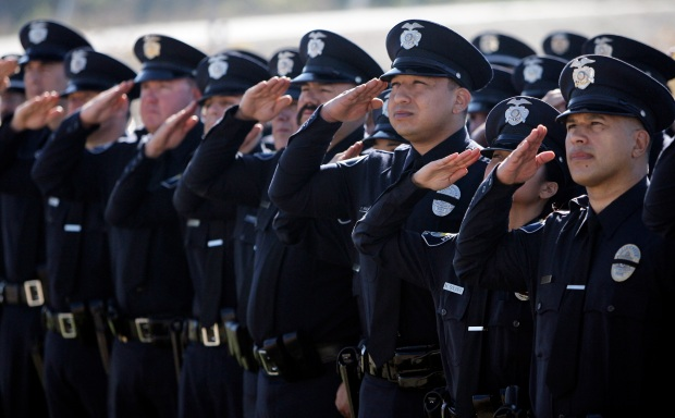 Funeral for Fallen Officer Draws Thousands