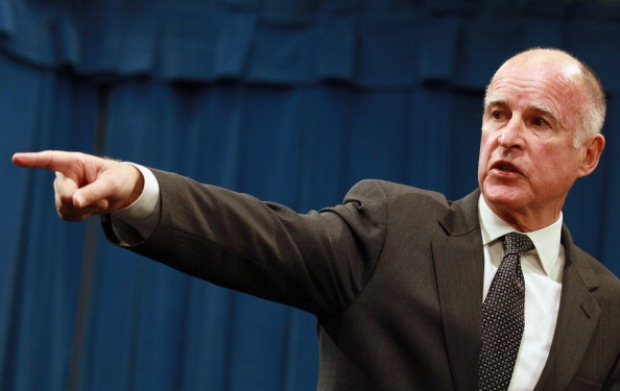 [LA] NewsConference: California Governor Jerry Brown, Part 1