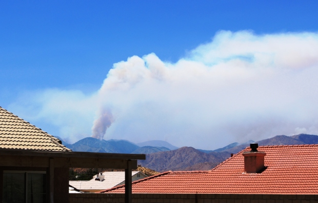 PHOTOS: Wildfire in San Bernardino County Mountains