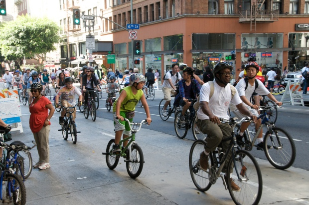 The Cyclists of CicLAvia