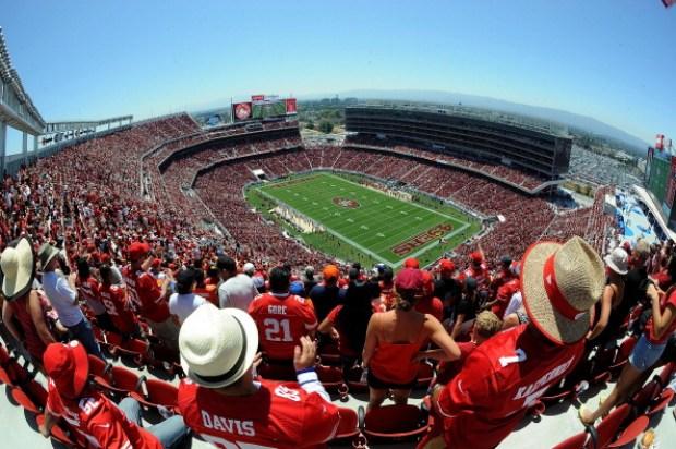 Game Day at Levi's Stadium: 49ers vs. Broncos