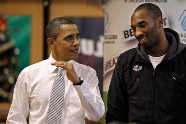 Obama, Lakers Team to Make Care Packages
