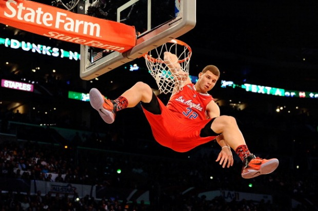 Blake Griffin Equals Dunk Champion