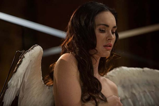 """Scenes From """"Passion Play,"""" Starring Mickey Rourke, Bill Murray and Megan Fox"""