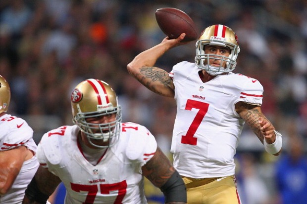 49er vs. Rams in Pictures