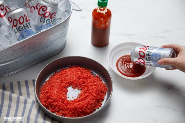 Recipe: Making a Hot Cheeto-Dusted Beer for Super Bowl Sunday