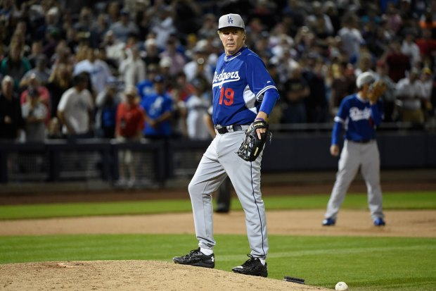 Will Ferrell Takes Mound for Dodgers