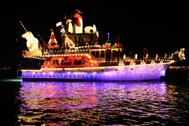 Gallery: The 101st Newport Beach Christmas Boat Parade