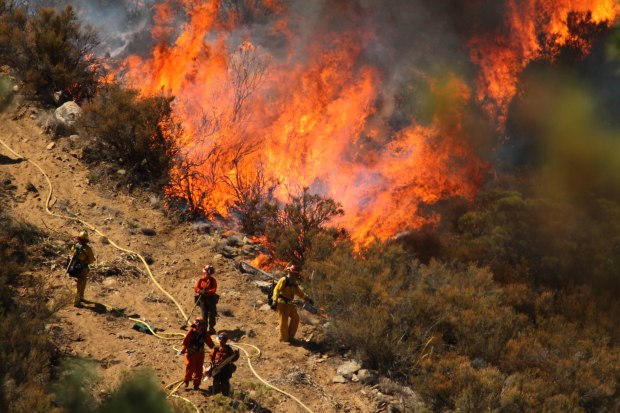 """[LA] Mountain Fire Declared """"National Priority"""" in Firefighting"""
