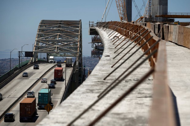 [LA GALLERY] Photos: New Bridge is a Science Experiment for Earthquake Research