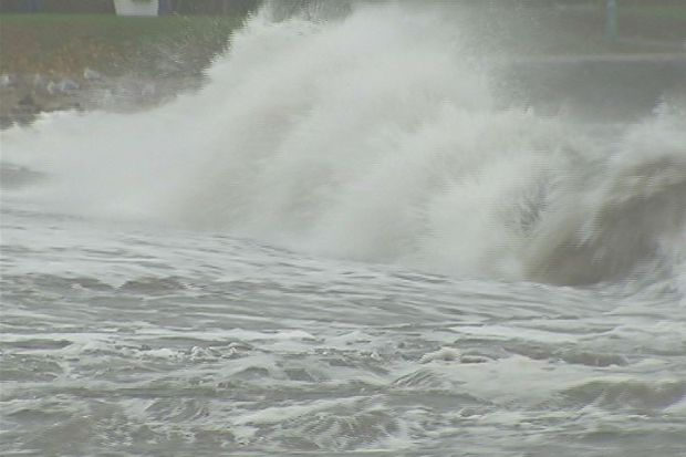 [HAR] Hurricane Sandy Hits Fairfield Beaches