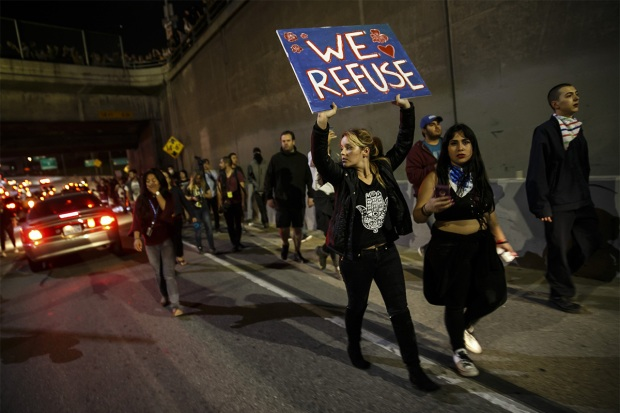 Thousands join fourth day of protests after USA election