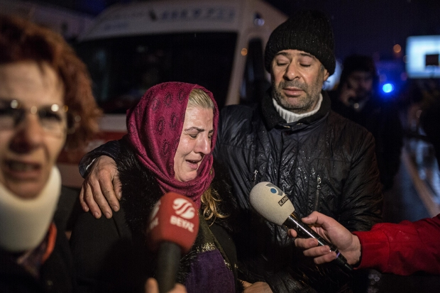 39 Dead in Istanbul New Year's Attack