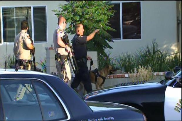 """[LA] """"Confusion"""" Surrounded Search for Pursuit Suspect"""