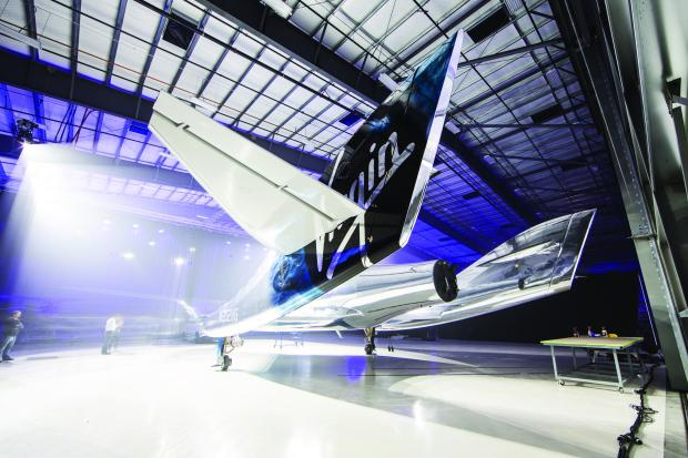 Virgin Galactic Unveils New SpaceShip Two