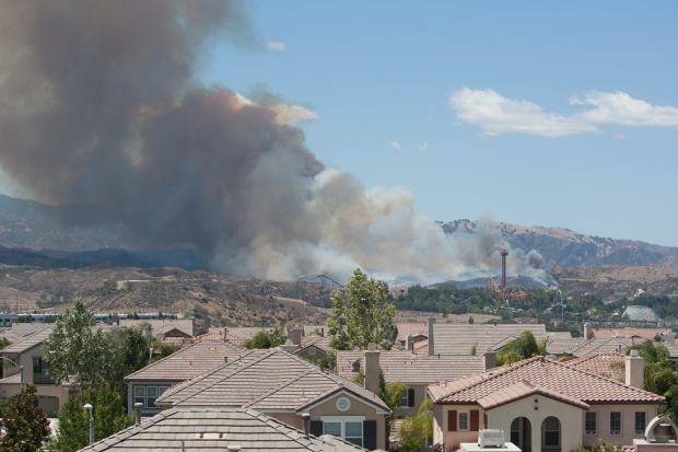 Viewer Photos: Images of the Magic Mountain Six Flags Fire