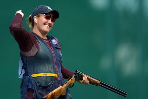 Kim Rhode's Historic Olympic Gold Medal Moment