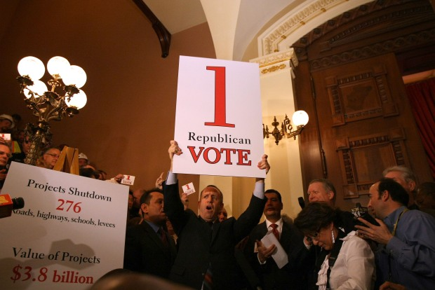 Sighs of Relief in State Senate, Assembly