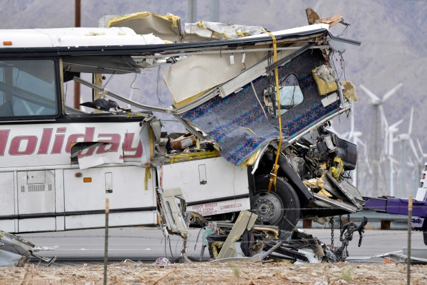 [LA] Authorities Investigating Driver's Actions Before Bus Crash