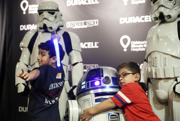 Children's Hospital Los Angeles Becomes Galactic Playground
