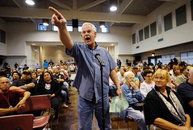 Image Gallery: Frustration at Bell Council Meetings