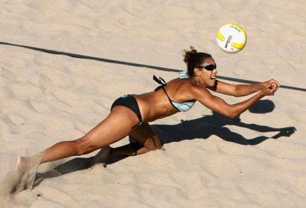 The Girls of Beach Volleyball