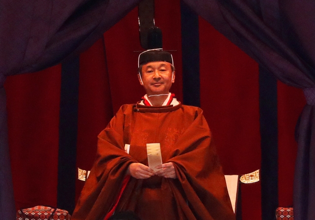 [NATL]Japanese Emperor Naruhito Formally Ascends Chrysanthemum Throne