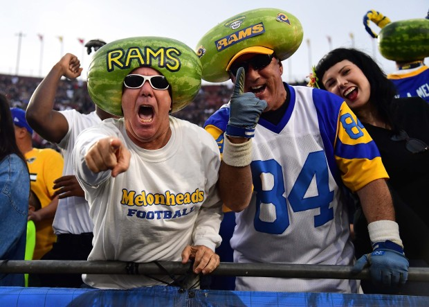 [LA GALLERY UPDATED 11/28] Rams Fans in Their Sunday Best