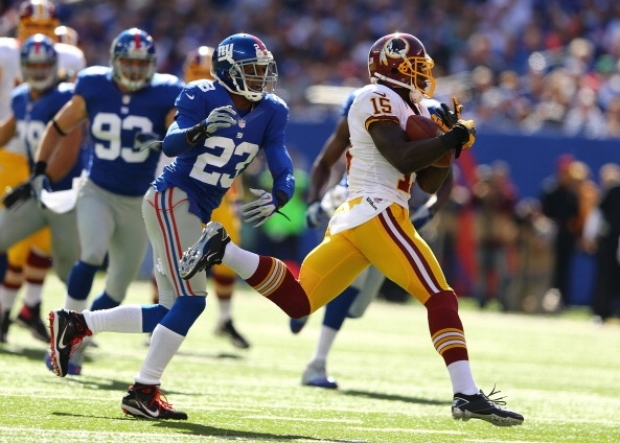 Redskins at Giants