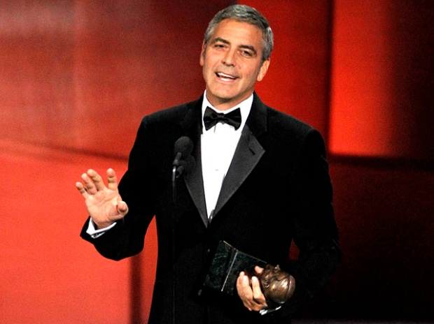 George Clooney Doesn't Kiss and Tell