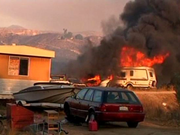 [DGO] Homes Burned in Temecula Wildfire